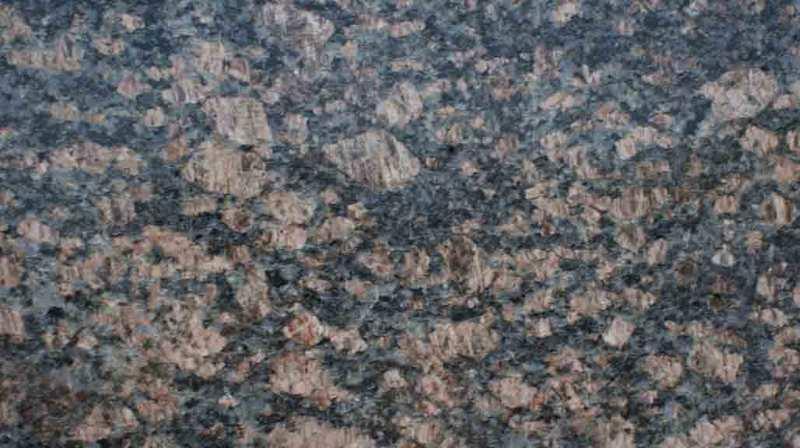 Sapphire Brown Granite : Black color range stone building