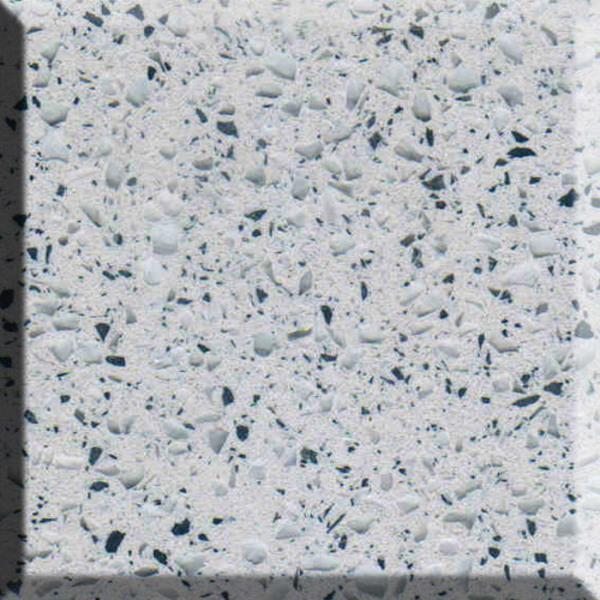 Luna stone - Bianco Metallo
