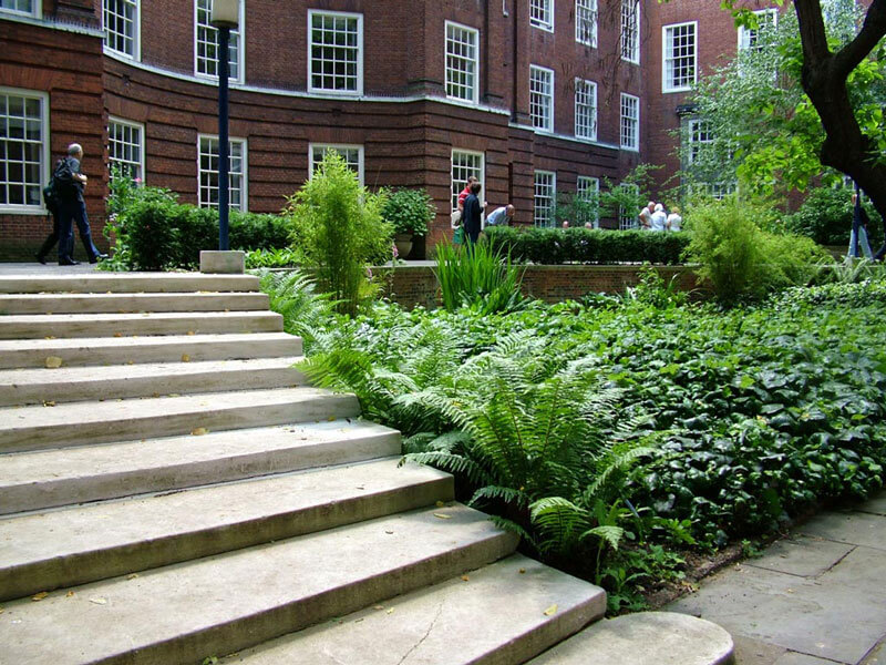 York Stone Steps, London Hampstead NW3