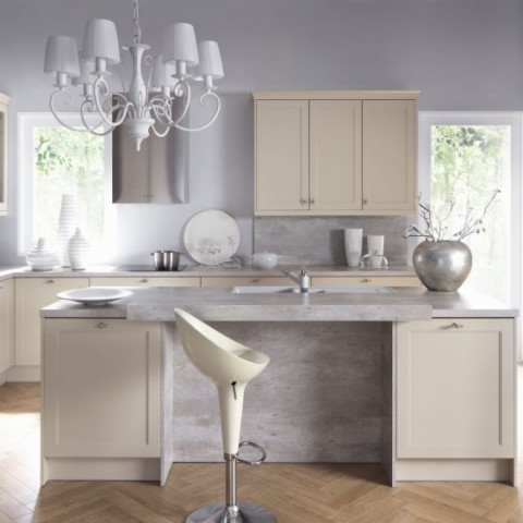 Cimestone Composite Kitchen Worktop, London Chelsea SW3