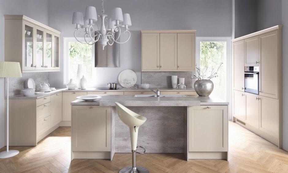 Cimestone Composite Kitchen Worktop, London Chelsea SW3