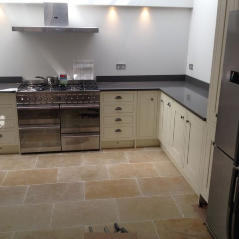 Silestone Composite Cemento Spa Kitchen Worktop,  London Fulham SW6