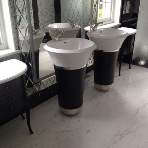 Calacatta Oro Marble Bathroom, Weybridge KT13
