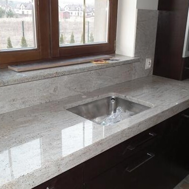 River White Granite Kitchen Worktop, Milton Keynes, MK9