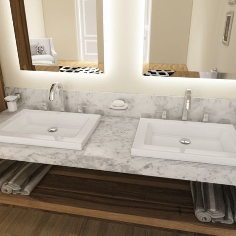 Carrara Marble Vanity Top Ealing, London