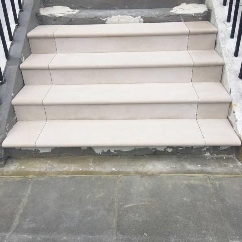 Portland Stone steps Chelsea, London 2
