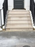 Portland Stone steps Chelsea, London 3