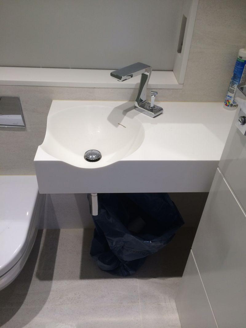 Corian Vanity Tops With Sink ~ Instavanity