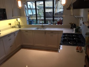 Caesarstone composite Kitchen Worktop-2