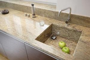 Granite Worktop + sink